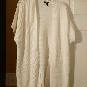 Gap 3/4 sleeve open sweater